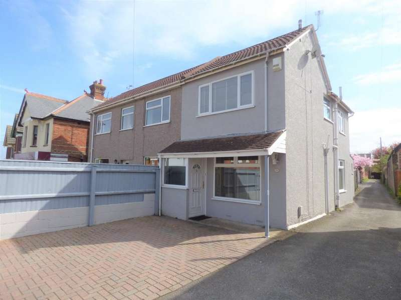 2 Bedrooms Semi Detached House for sale in Albert Road, Parkstone