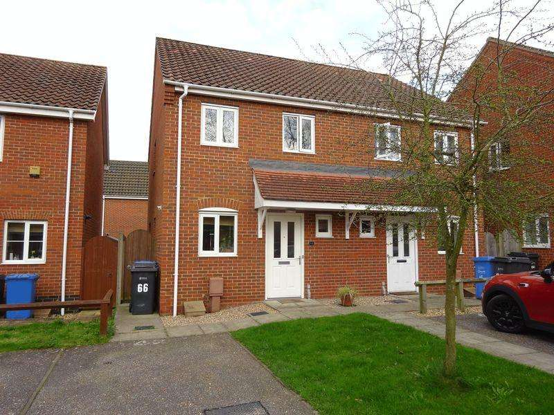 2 Bedrooms Semi Detached House for sale in Roe Drive, Norwich