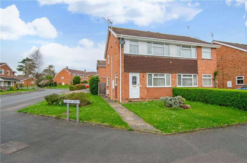 3 Bedrooms Semi Detached House for sale in Canada Way, Worcester, Worcestershire, WR2