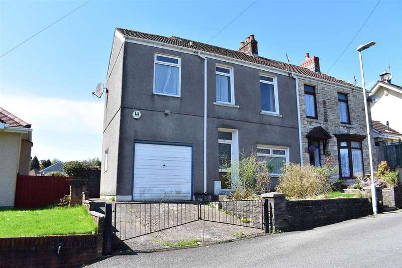 3 Bedrooms Semi Detached House for sale in Heol Gwell, Treboeth, Swansea