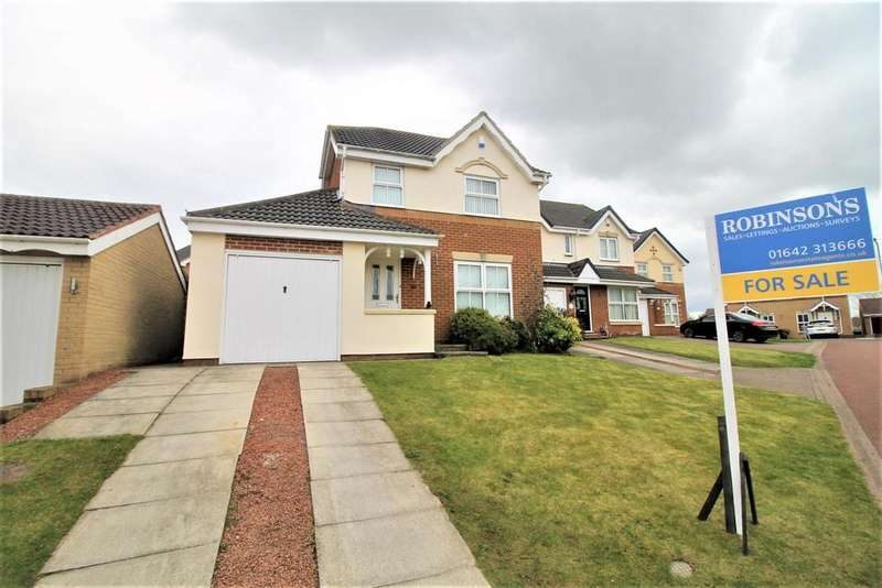 3 Bedrooms Detached House for sale in Cranbrook, Marton-In-Cleveland, Middlesbrough
