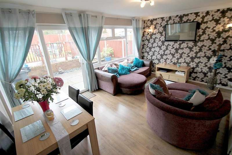 4 Bedrooms Semi Detached House for sale in Glenthorne Drive, Walsall