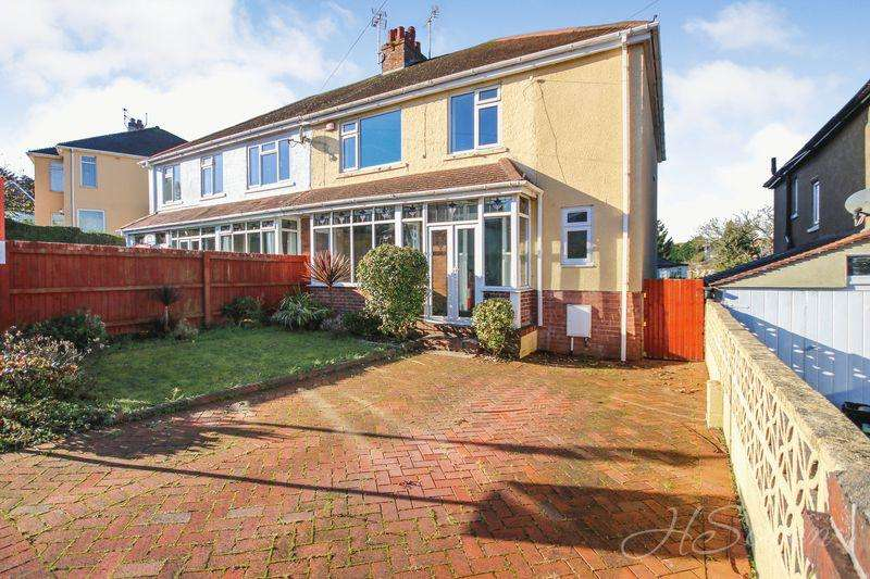 4 Bedrooms Semi Detached House for sale in Oak Park Avenue, Shiphay, Torquay