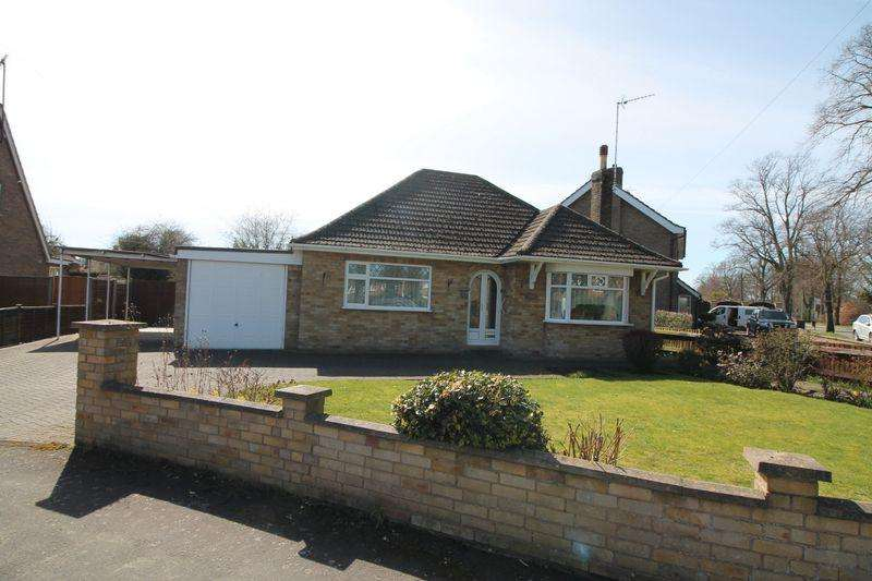 2 Bedrooms Detached Bungalow for sale in Meadow Close, Spalding