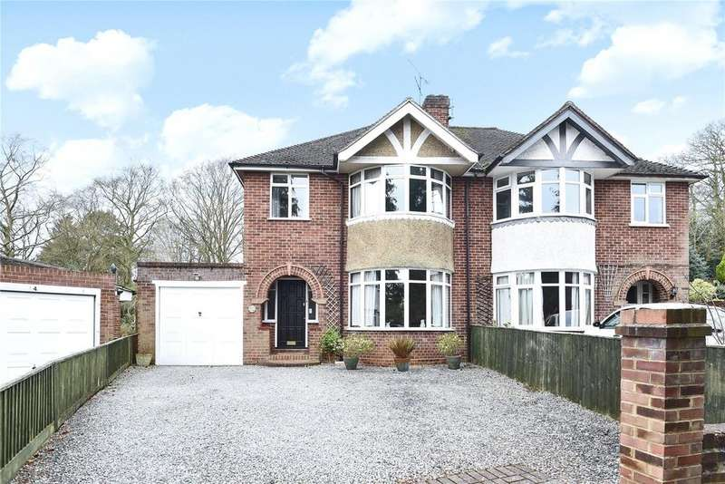 3 Bedrooms Semi Detached House for sale in Ryecroft Close, Woodley, Reading, Berkshire, RG5