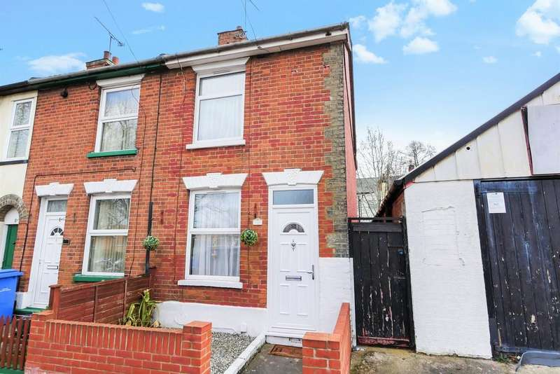 2 Bedrooms End Of Terrace House for sale in Rendlesham Road, Ipswich