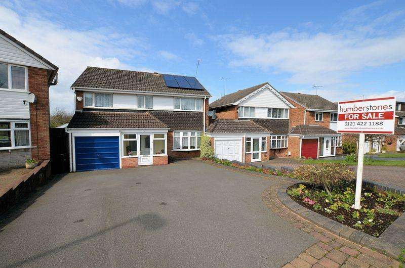 5 Bedrooms Detached House for sale in Woodbury Road, Halesowen