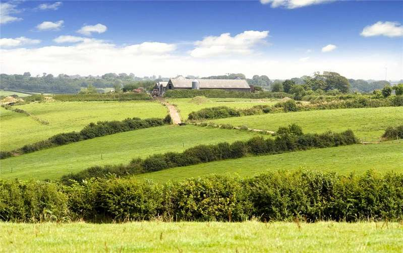 Farm Commercial for sale in Higher Woodford Farm (Whole), Milton Damerel, Holsworthy, Devon, EX22