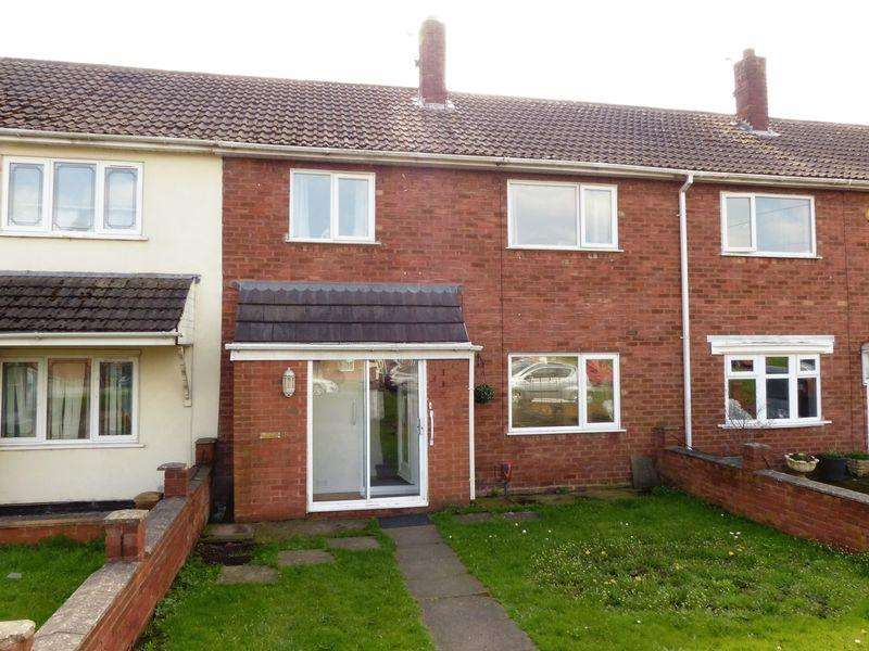3 Bedrooms Terraced House for sale in Lawley Close, Pelsall