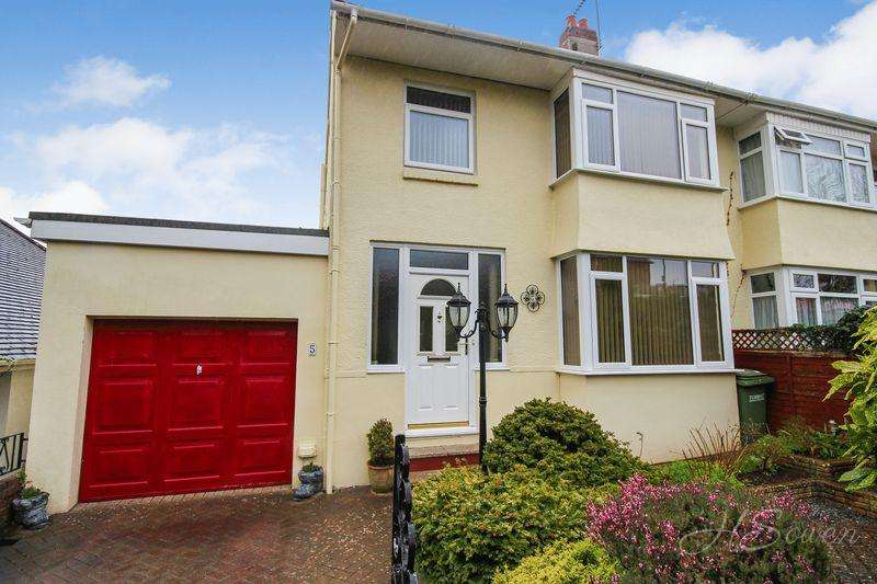 4 Bedrooms Semi Detached House for sale in Higher Cadewell Lane, Torquay
