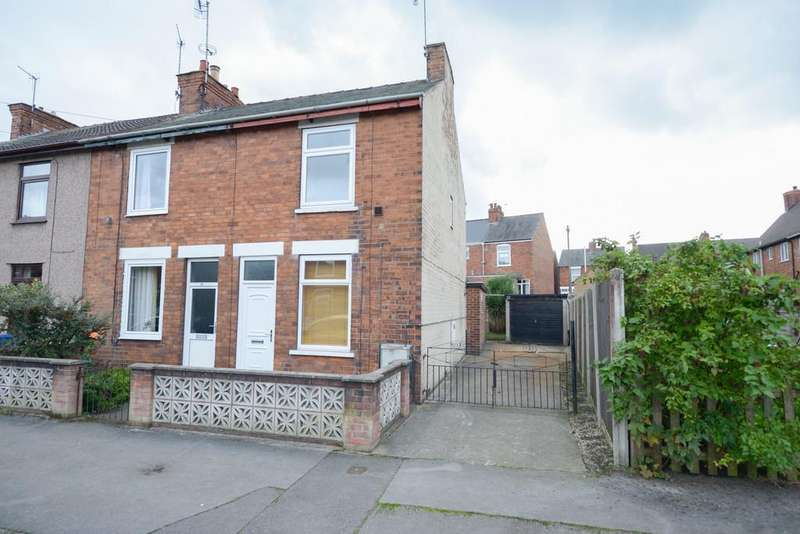 2 Bedrooms End Of Terrace House for sale in Lord Roberts Road, Chesterfield