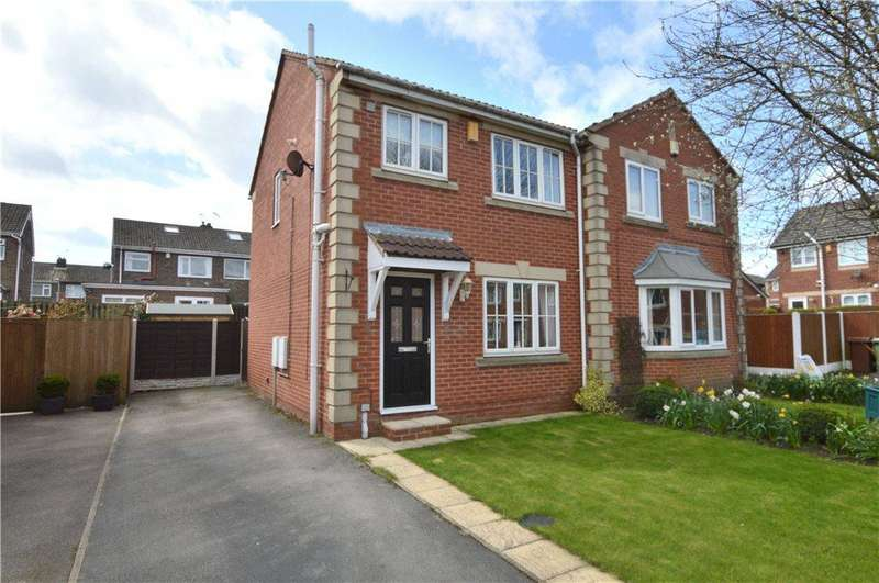 3 Bedrooms Semi Detached House for sale in Broadland Way, Lofthouse, Wakefield
