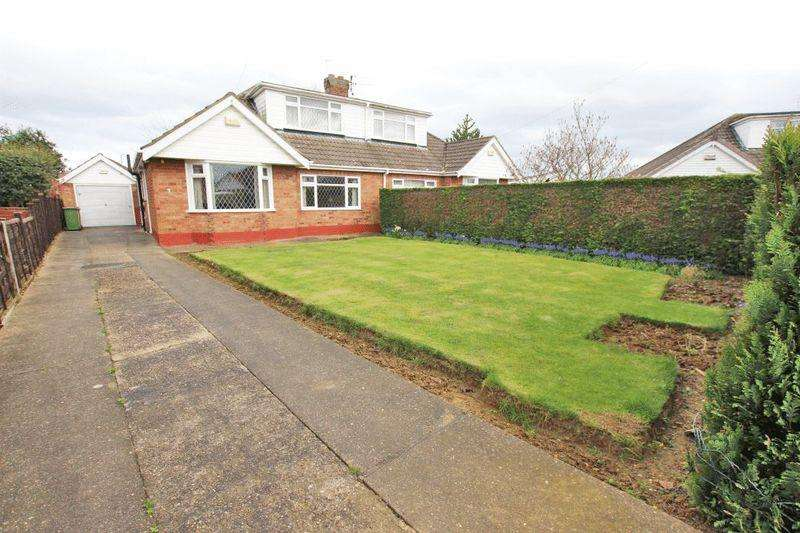 3 Bedrooms Semi Detached Bungalow for sale in WALESBY CLOSE, SCARTHO
