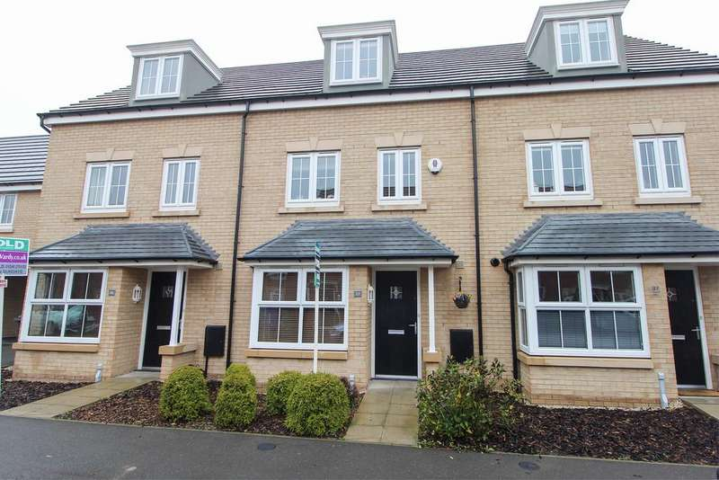 4 Bedrooms Terraced House for sale in Askew Way, Chesterfield