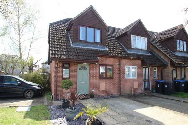 2 Bedrooms End Of Terrace House for sale in Priestly Gardens, WOKING, Surrey