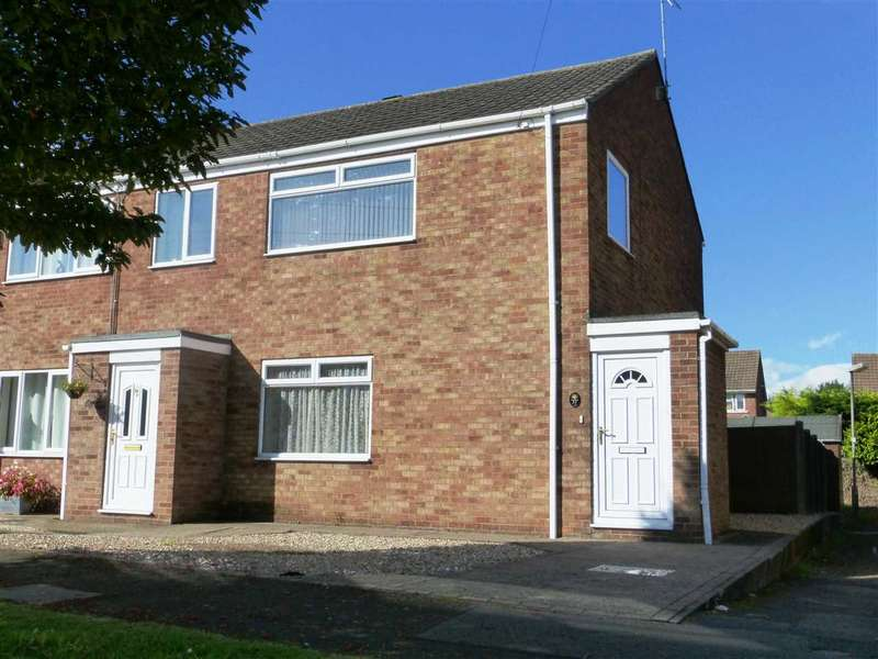 3 Bedrooms Semi Detached House for sale in Ancaster Court, Scunthorpe