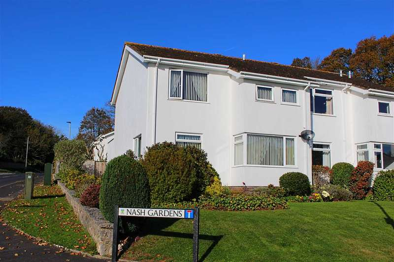 4 Bedrooms Semi Detached House for sale in Nash Gardens, Dawlish