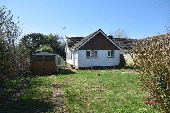 2 Bedrooms Semi Detached Bungalow for sale in Brook Close, Sidford