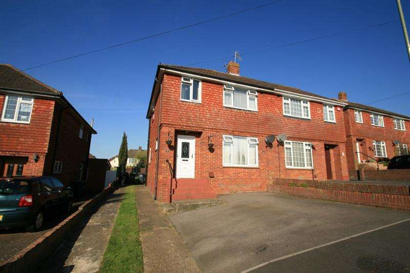 3 Bedrooms Semi Detached House for sale in Fortunes Way, Bedhampton, Havant