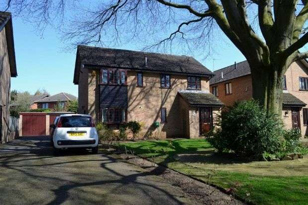 4 Bedrooms Detached House for sale in The Avenue, Cliftonville, Northampton NN1 5BT