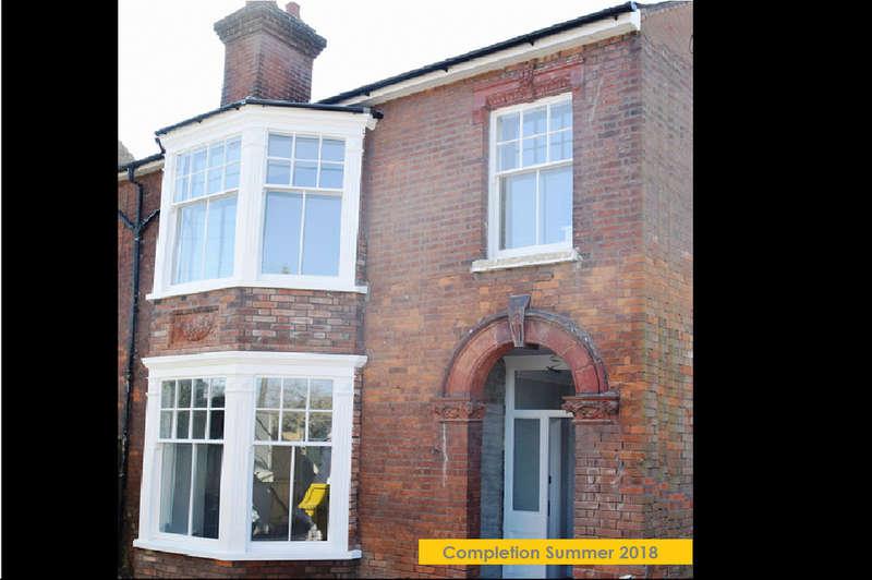2 Bedrooms Maisonette Flat for sale in Fornham Road, Bury St. Edmunds