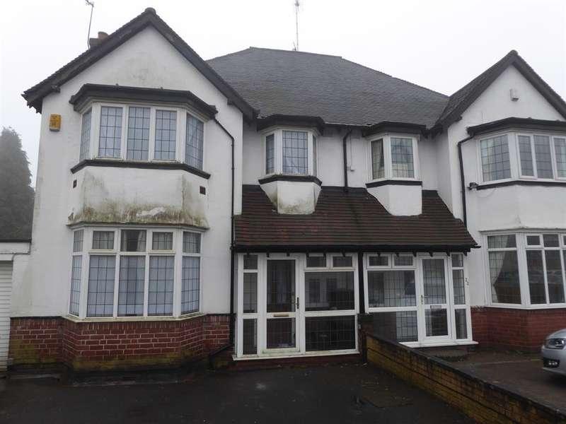 4 Bedrooms Semi Detached House for sale in Court Oak Road, Harborne, Birmingham, B17 9TJ