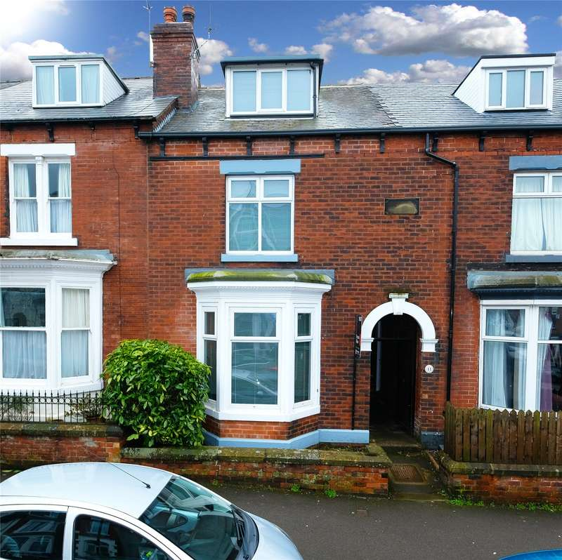 3 Bedrooms Terraced House for rent in Glenalmond Road, Greystone, Sheffield, S11