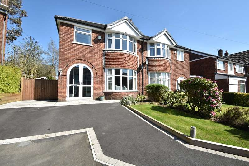 3 Bedrooms Semi Detached House for sale in Baguley Drive, Sunny Bank, Bury, BL9