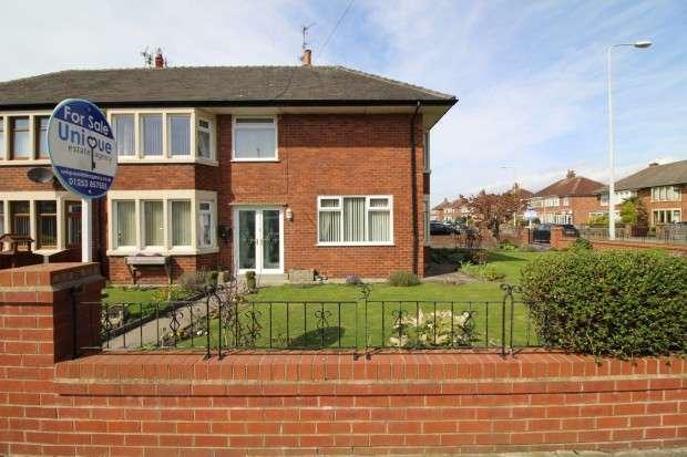 3 Bedrooms Semi Detached House for sale in Rossall Grange Lane, Fleetwood, FY7