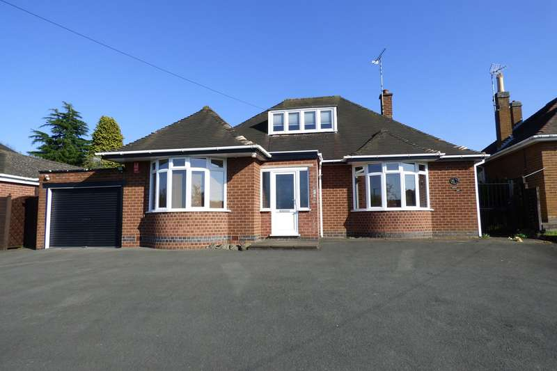 3 Bedrooms Detached Bungalow for sale in Atherstone Road, Hartshill, Nuneaton, CV10