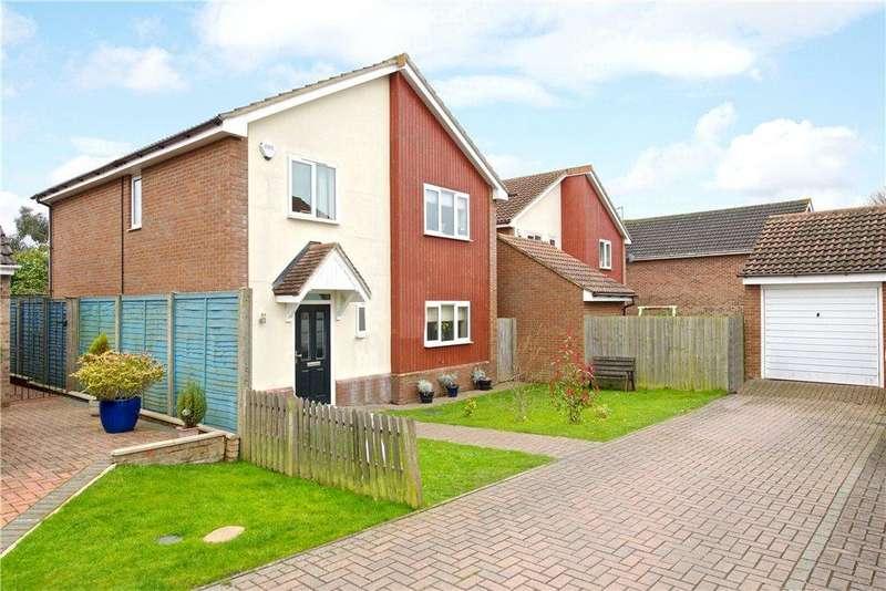 4 Bedrooms Detached House for sale in Langlands, Lavendon, Buckinghamshire