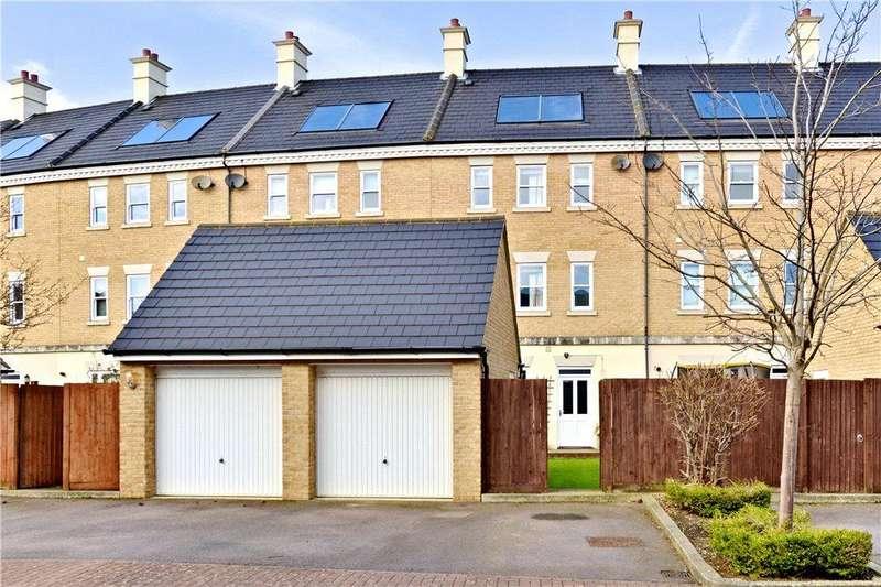 4 Bedrooms Terraced House for sale in Rowditch Furlong, Redhouse Park, Milton Keynes, Buckinghamshire