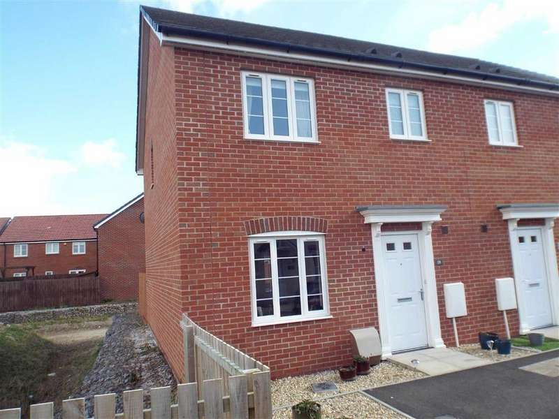 4 Bedrooms Semi Detached House for sale in Hamley Close, Burnham-on-Sea