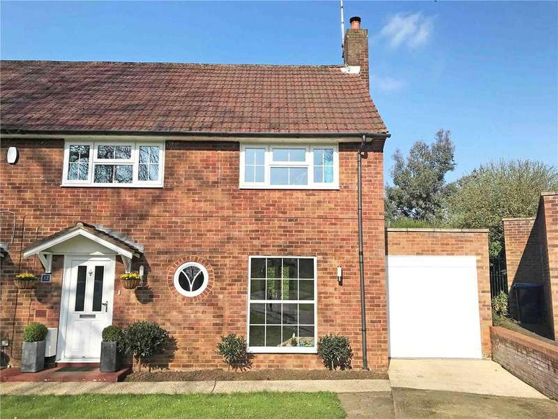 4 Bedrooms Semi Detached House for sale in Beehive Green, Welwyn Garden City, Hertfordshire