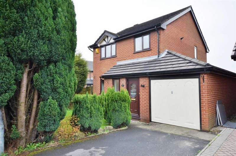 4 Bedrooms Detached House for sale in Higher Drake Meadow, Westhoughton