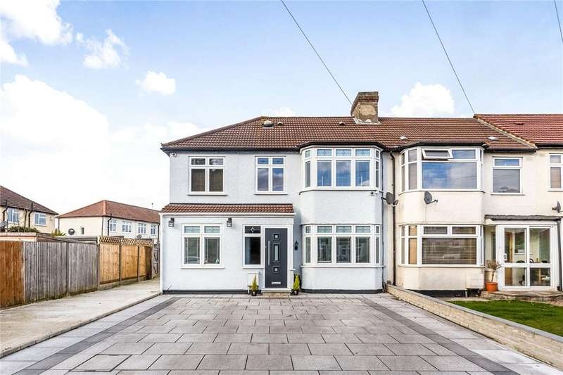 4 Bedrooms End Of Terrace House for sale in Newby Close, Enfield, EN1