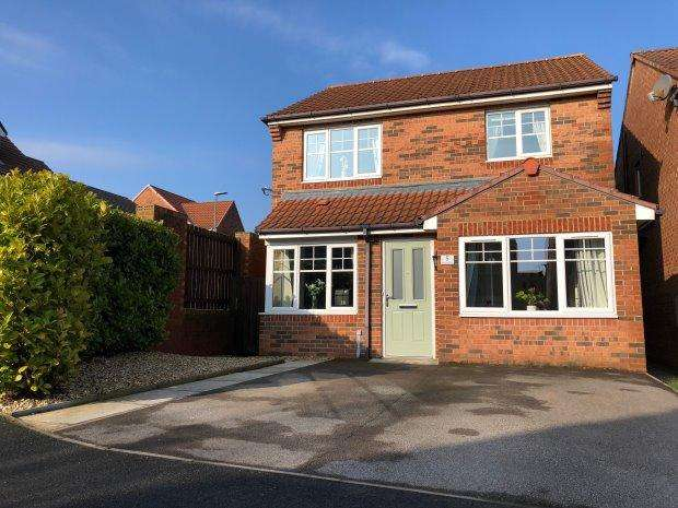 3 Bedrooms Detached House for sale in WATERCRESS CLOSE, BISHOP CUTHBERT, HARTLEPOOL