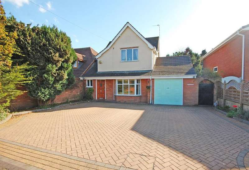 4 Bedrooms Detached House for sale in SANDY LANE, Tettenhall, Wolverhampton WV6