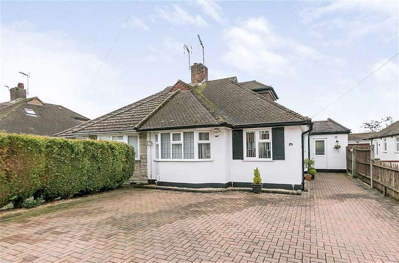 3 Bedrooms Semi Detached Bungalow for sale in Beaufort Way, Epsom, Surrey
