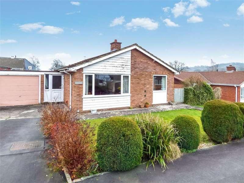 2 Bedrooms Detached Bungalow for sale in Almond Avenue, Llandrindod Wells, Powys