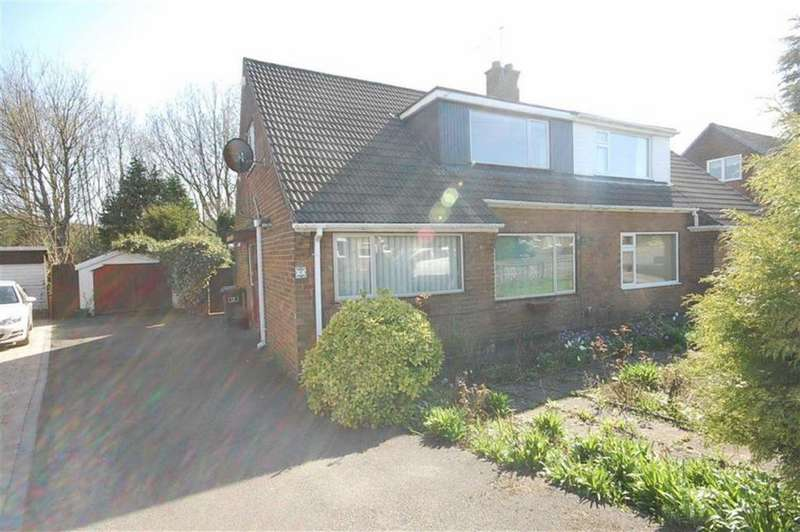3 Bedrooms Semi Detached Bungalow for sale in Parkfield Crescent, Mirfield, WF14