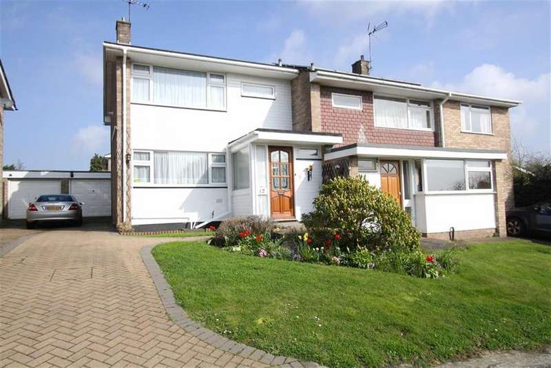 3 Bedrooms Semi Detached House for sale in South Ridge, Billericay