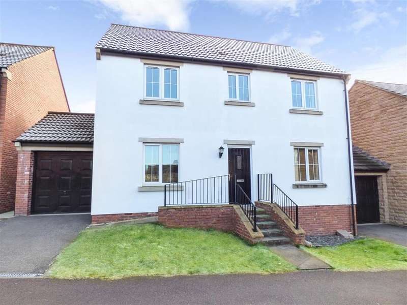 4 Bedrooms Detached House for sale in Windhill Rise, Woolley Grange, Barnsley