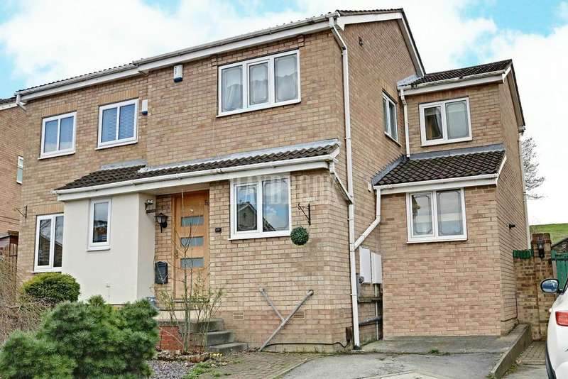 4 Bedrooms Semi Detached House for sale in Redcliffe Close, Redbrook