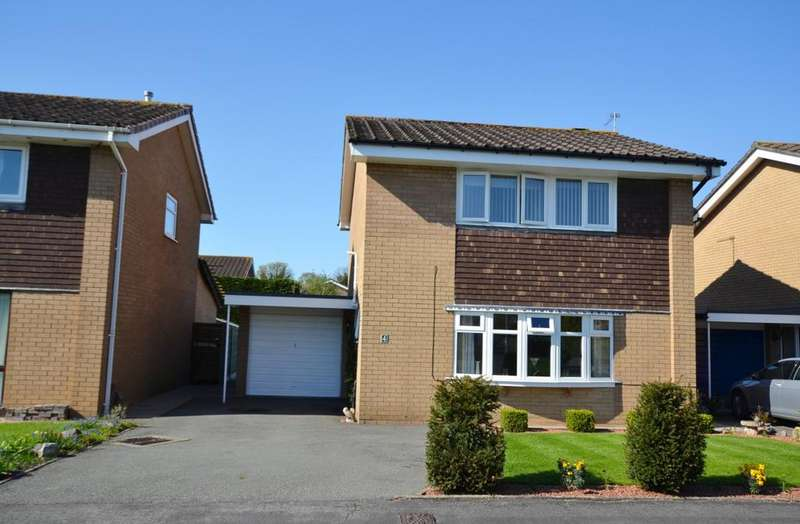 3 Bedrooms Detached House for sale in Bowness Close, Holmes Chapel