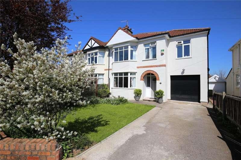 4 Bedrooms Semi Detached House for sale in Lyndhurst Road, Westbury-On-Trym, Bristol, BS9
