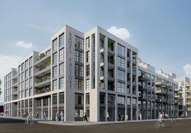 1 Bedroom Apartment Flat for sale in Bagel Factory, Hackney Wick