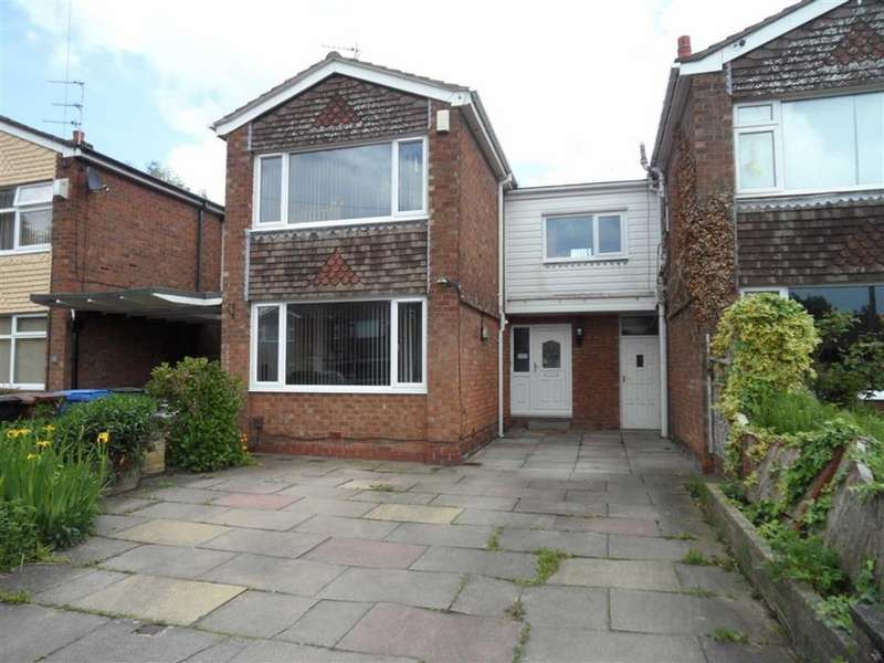 4 Bedrooms Link Detached House for sale in Motcombe Farm Road, Heald Green