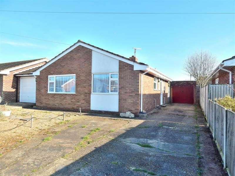 2 Bedrooms Detached Bungalow for sale in West Hall Road, Dersingham, King's Lynn
