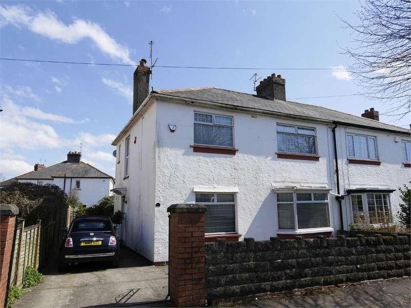 3 Bedrooms Semi Detached House for sale in Coleridge Avenue, Penarth